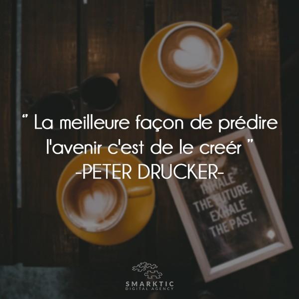 motivational quote peter drucker