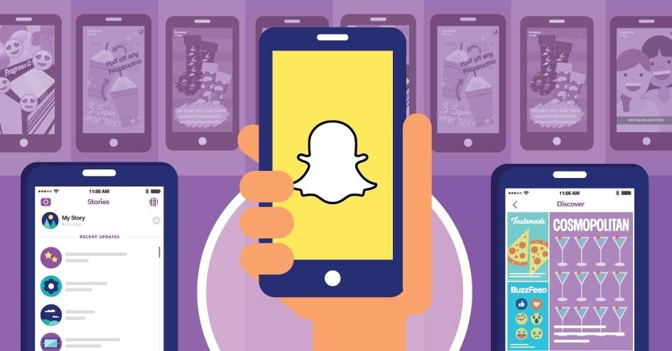 Snapchat: le guide d'utilisation CM