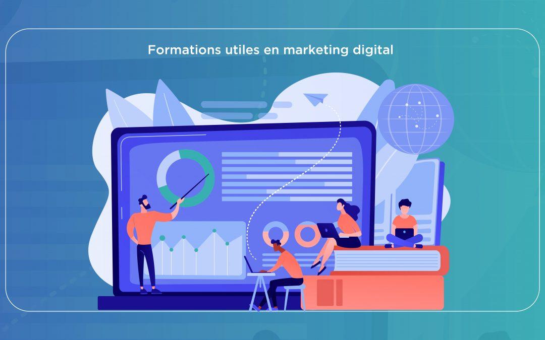 5 formations en marketing digital à découvrir absolument